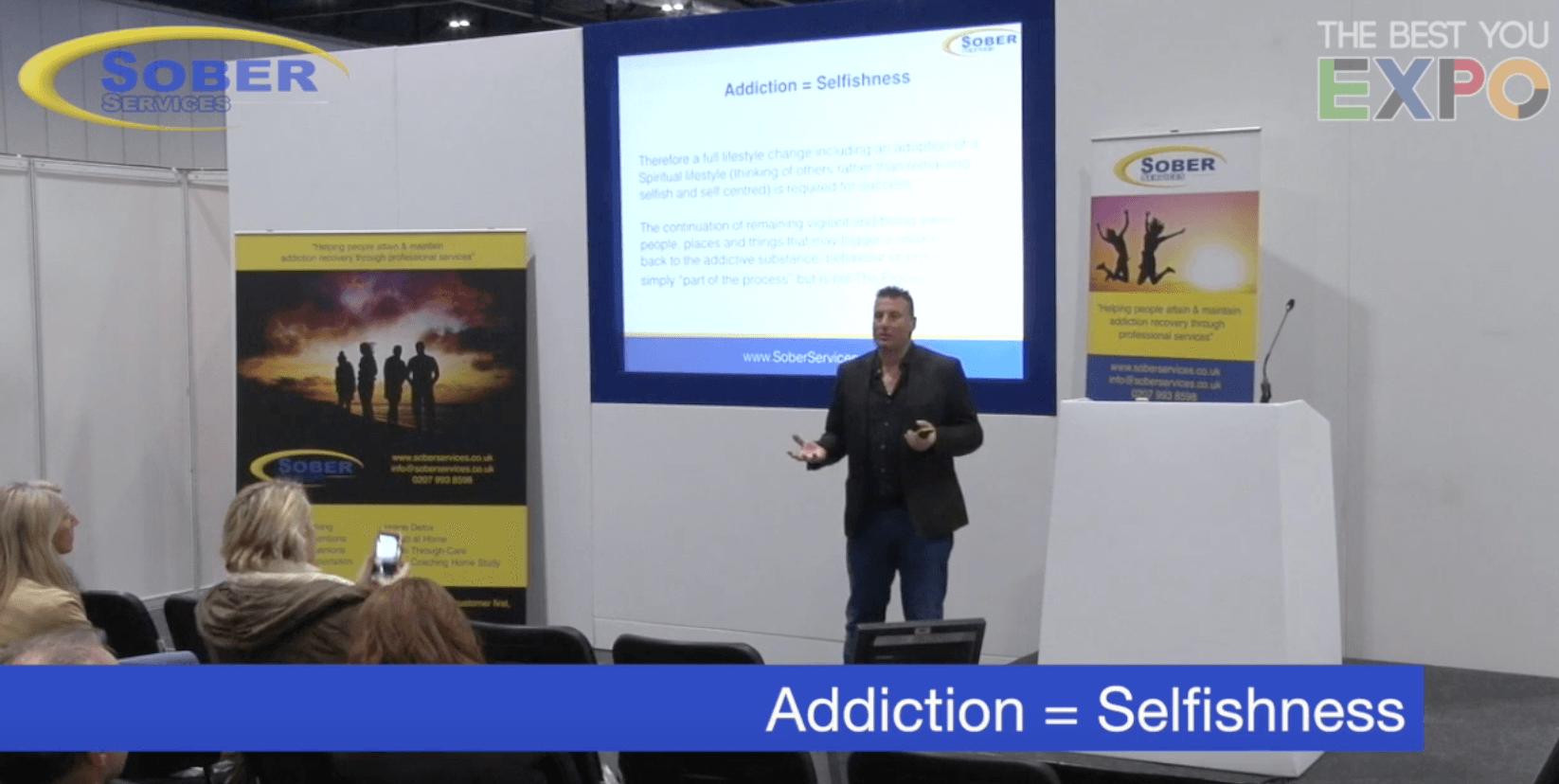 Addiction = Selfishness