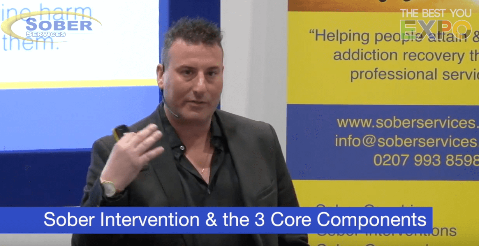 Sober Intervention & the 3 Core Components