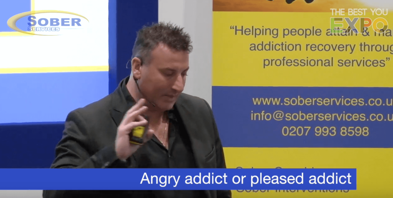 Angry addict or please addict