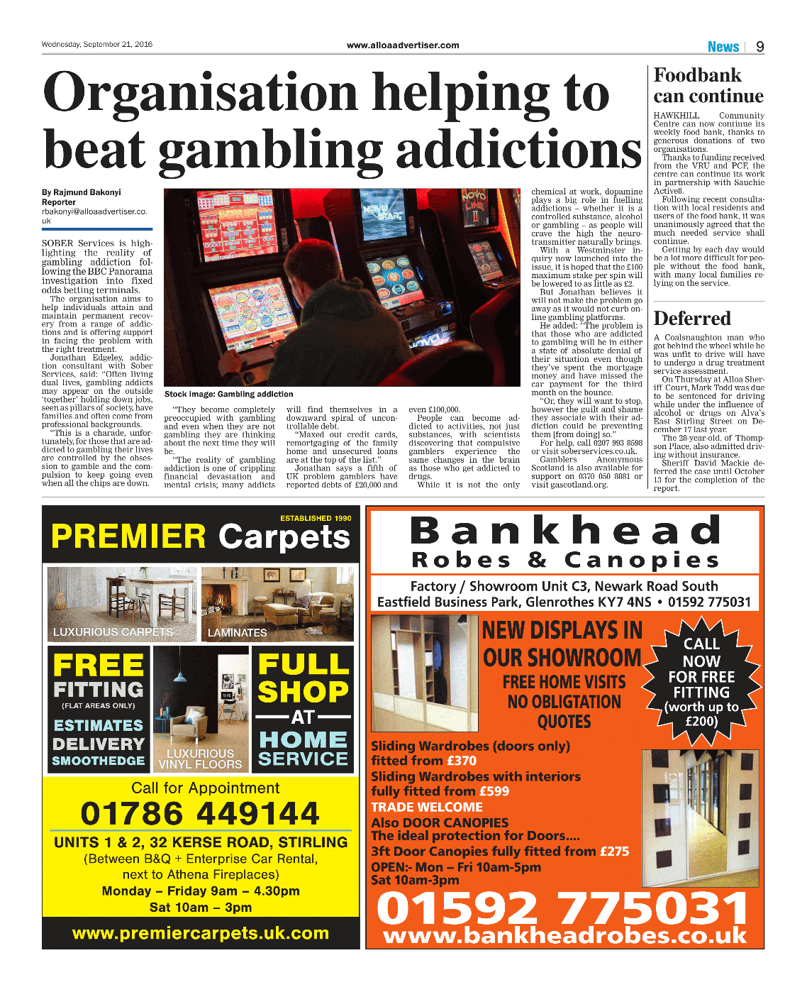 Rehab gambling addiction uk apl poker newcastle nsw