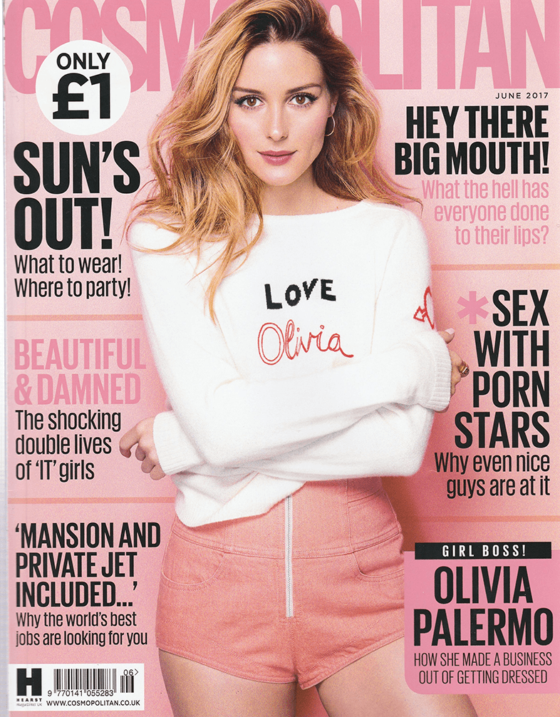 Cosmopolitan cover - June 2017